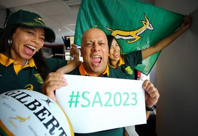 "South Africans called to back ""green days"" in RWC 2023 Bid campaign"