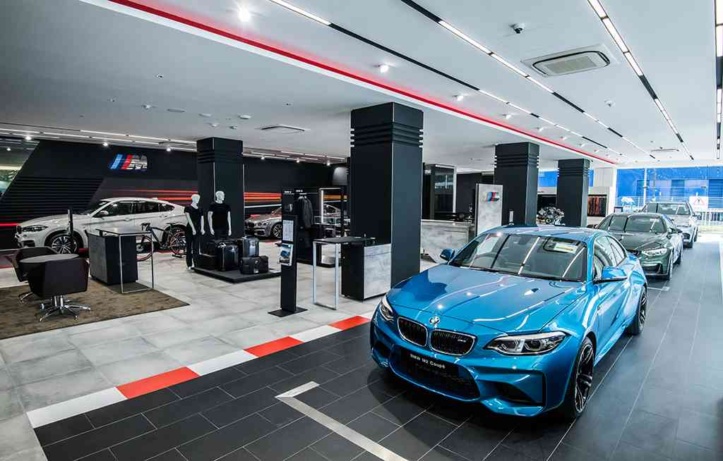 BMW open more high-performance showrooms
