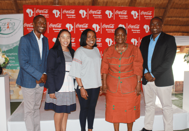 Coca- Cola Beverages SA donates to learners in Rustenburg