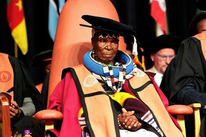 Mama Esther Mahlangu is now Dr. Mahlangu