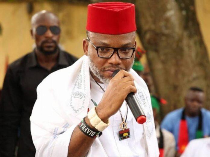Leader of the Indigenous Peoples of Biafra Mazi Nnamdi Kanu