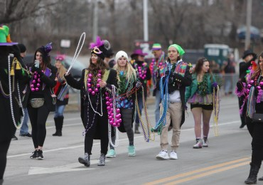 Despite smaller crowds, Mardi Gras deemed a success