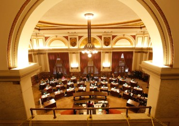 Aldermen keep gallery open to public