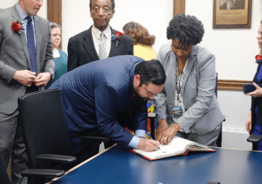 South Side's only new alderman celebrates his swearing-in day