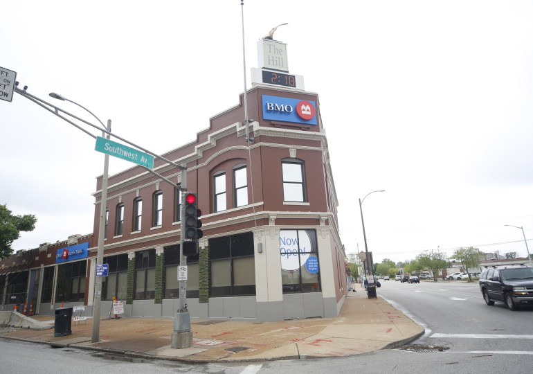 New look for old bank retains historical style