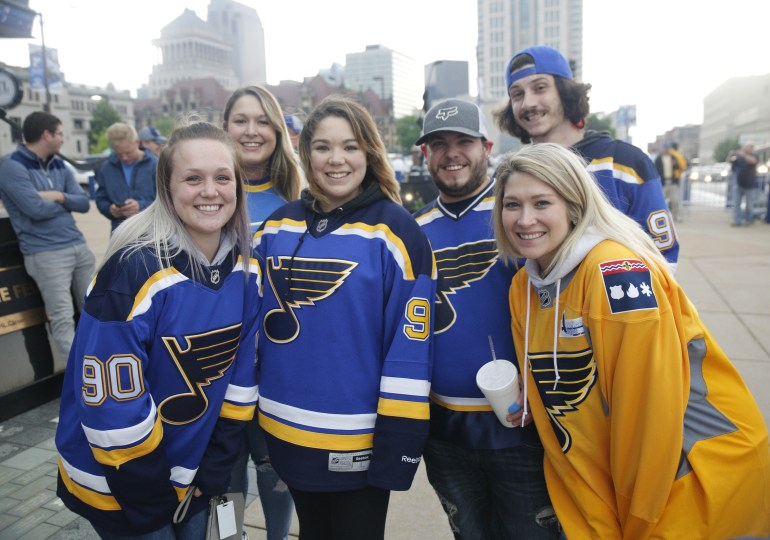 Play Gloria!  Blues head to first Stanley Cup Final in 49 years