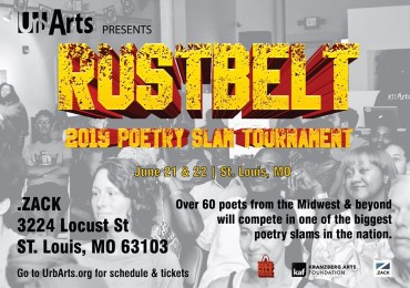 Rustbelt Poetry Slam Tournament to be held in St. Louis for the first time