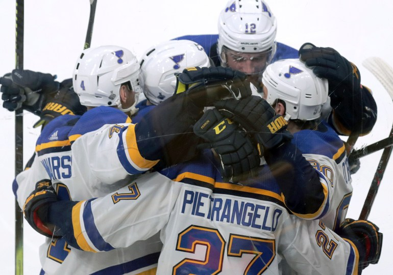 Blues beat Bruins, are one win from franchise's first Stanley Cup