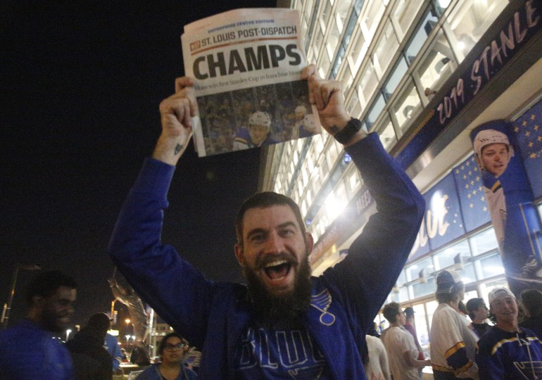 Blues fans celebrate Stanley Cup win without a single arrest
