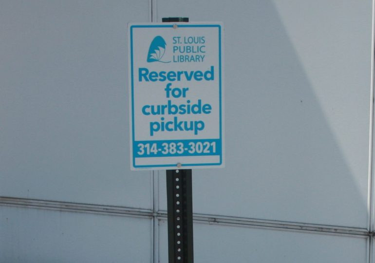 Check out St. Louis Public Library's Curbside Pickup Service