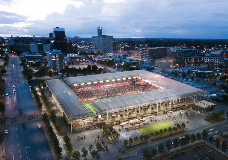 Redevelopment bills are introduced for soccer stadium