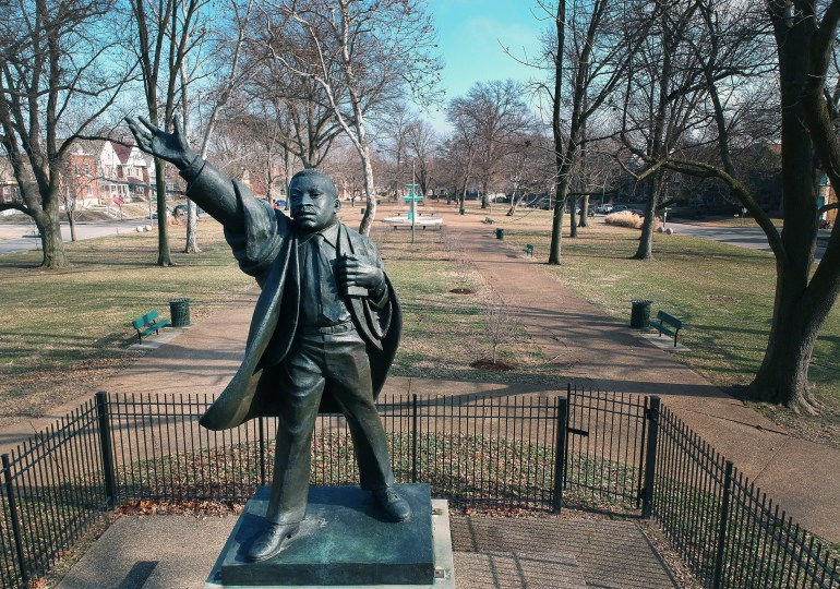King's ideals, statue will be focus of Freedom March, Peace Walk
