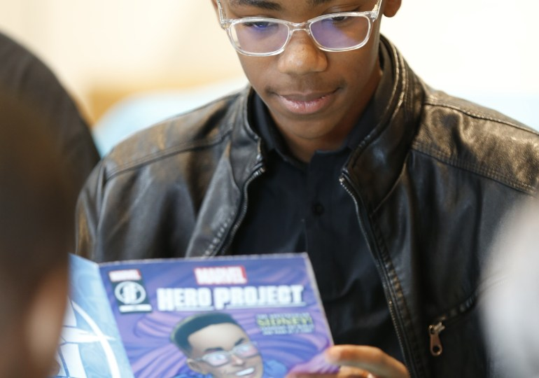Disney program features teen who started book club for black children