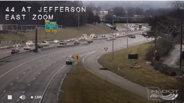 MoDOT closes Jefferson under I-44 this weekend