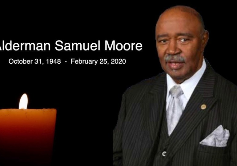 Video tribute honors Fourth Ward Alderman Sam Moore