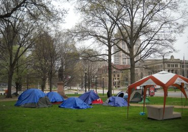 Homeless to be ousted from tent city Friday; shelters ready
