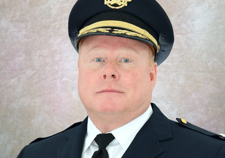 Assistant police chief says he was passed over for being white