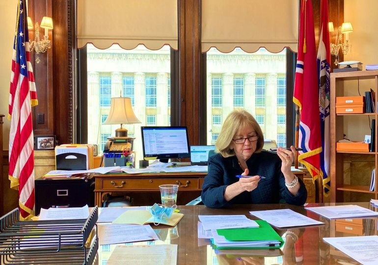 Krewson temporarily moves after protests at home