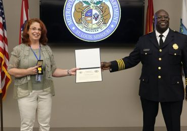 Latest virus numbers 'excellent'; SLMPD honors Dorn