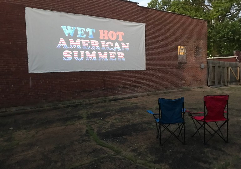 Summer movie series first step to opening post-COVID-19 microcinema