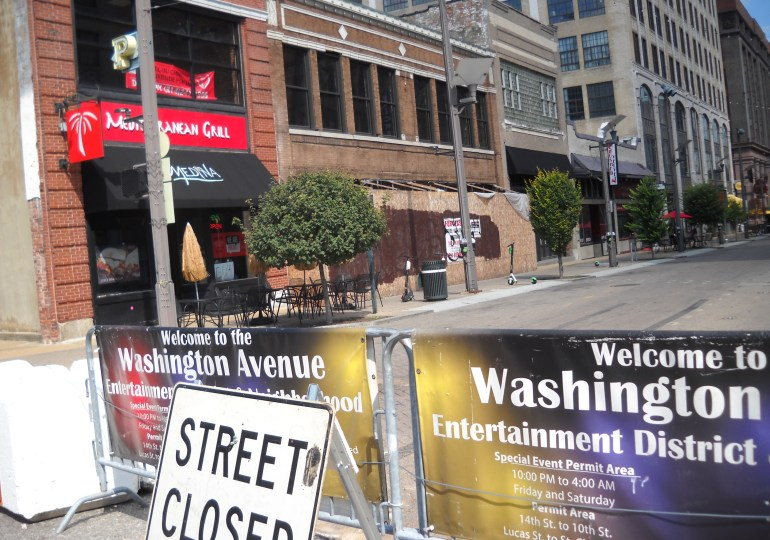 Street closures aim to curb reckless driving downtown