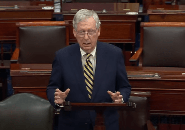 Virus aid talks at impasse as McConnell, Trump huddle