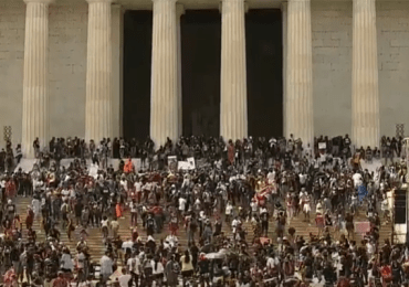 Lincoln Memorial rally marks 1963 protest, 2020 need for change