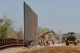 Biden halts construction of border wall
