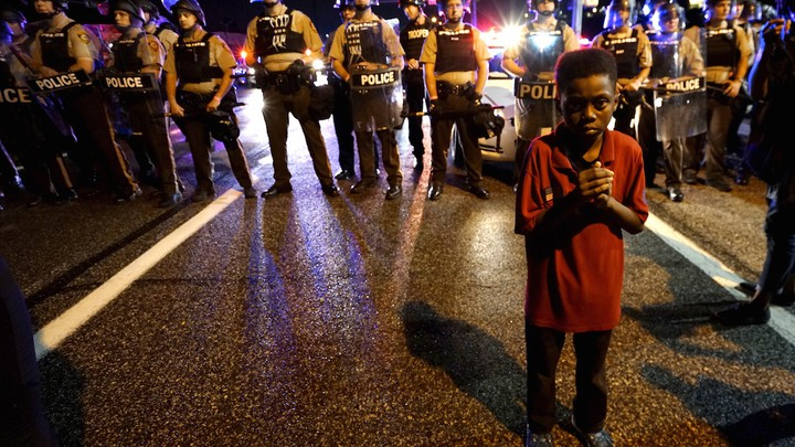 'I am a child!' Pepper spray reflects policing of Black children