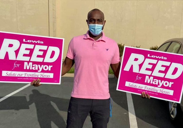 Reed says his experience would help him as mayor