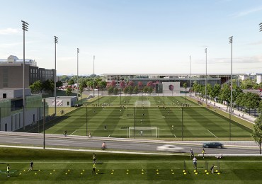 Soccer facility will be unique, welcoming, officials and contractors pledge