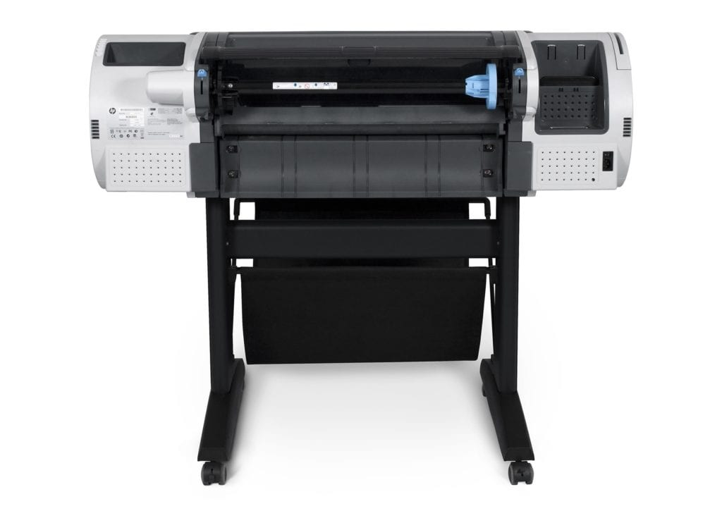 Hp Designjet T790 24 In Wide Format Printer Metro Plotter T520 Inch