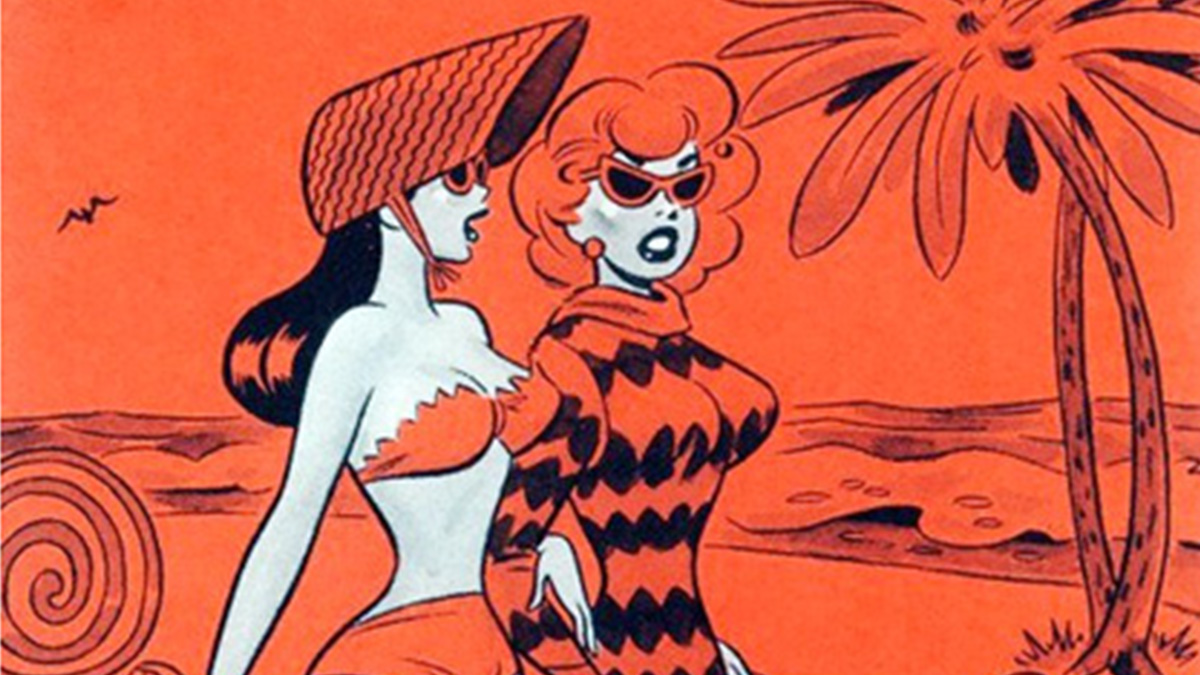 Dan DeCarlo's girls