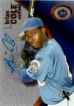 Mets Card of the Week: 2001 Fleer E-X Brian Cole