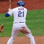On Lucas Duda swinging fewer times this year