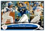 Mets Card of the Week: 2012 NL Batting Leaders (Jose Reyes)