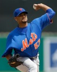 Santana progressing nicely for the Mets
