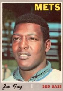 Mets Card of the Week: 1970 Joe Foy |