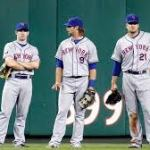 Outfield usage for the Mets over the past 10 years