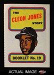 Mets Card of the Week: Cleon Jones booklet