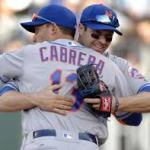 Asdrubal Cabrera and Neil Walker form a fine middle infield