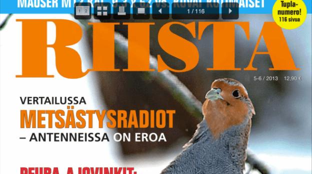 Lehtiluukku: Riista-lehti