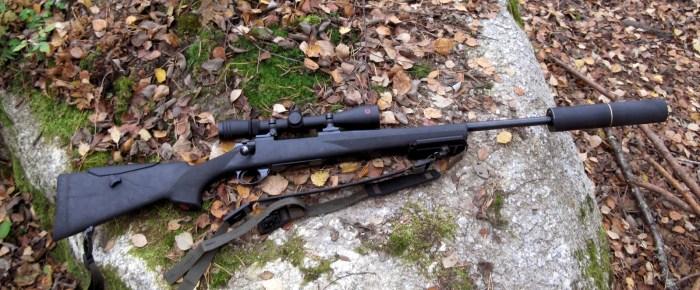 Kivääri näyttää W110:n kanssa tasapainoiselta