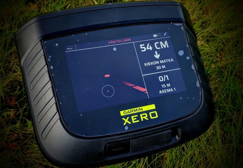 Garmin Xero S1 osumanäyttö: toinen hutilaukaus