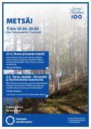 25.4. Ihana ja kaunis metsä! -luento 2.5. Terve, metsä! - Terveyttä ja hyvinvointia luonnosta -luento