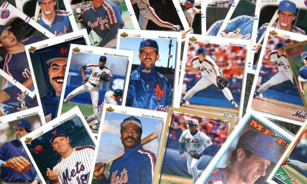 New York Mets Baseball Card Checklists