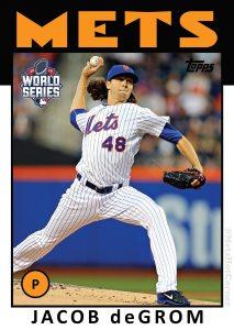 2015 World Series Jacob deGrom