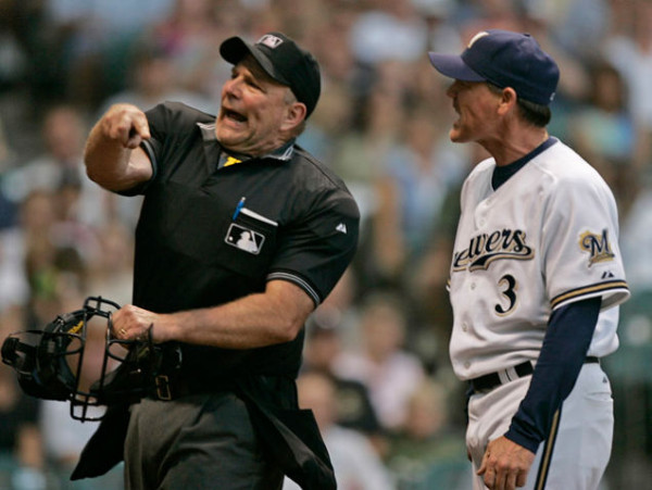 Image result for mean umpire face pictures