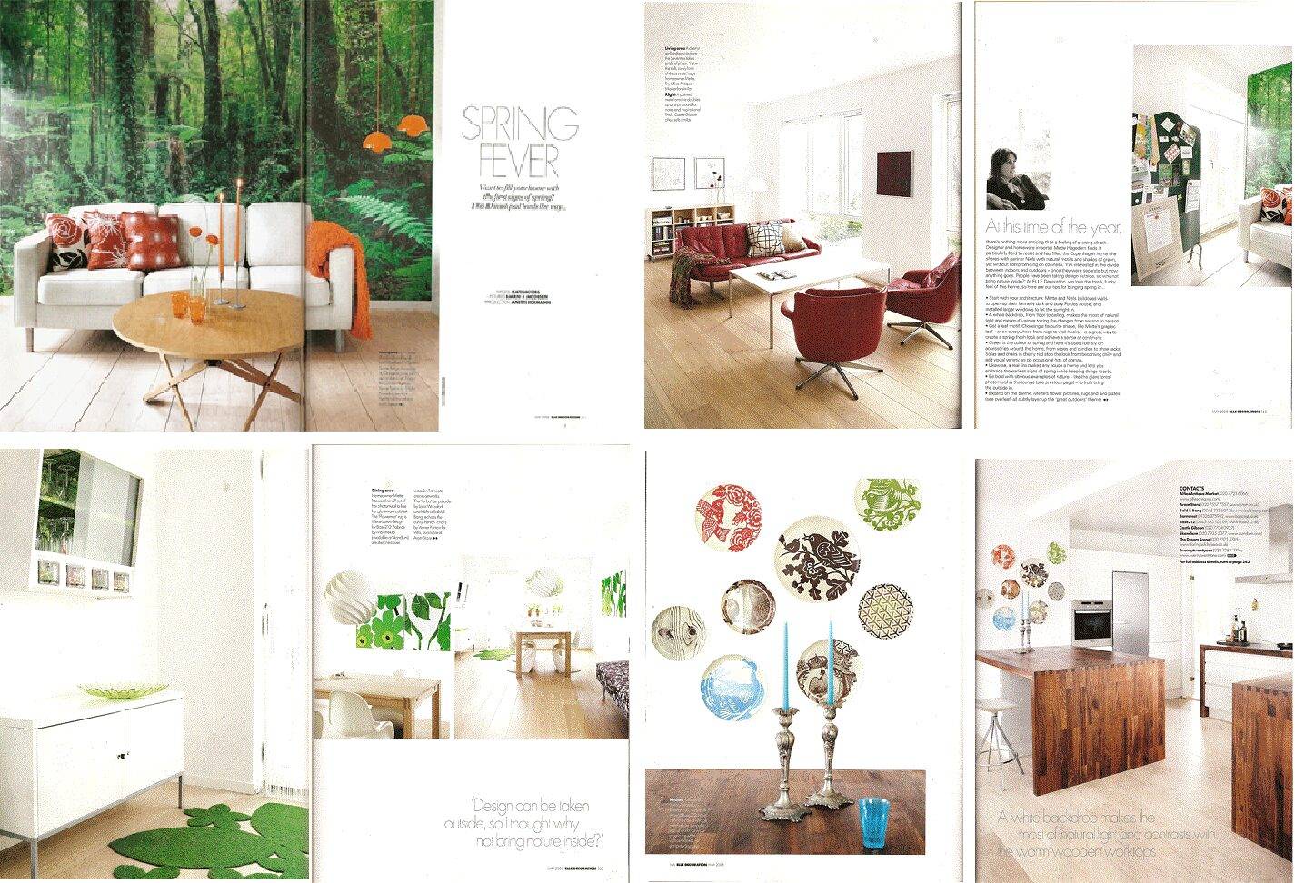 House In Tureby In Elle Decoration Uk Mette Hagedorn