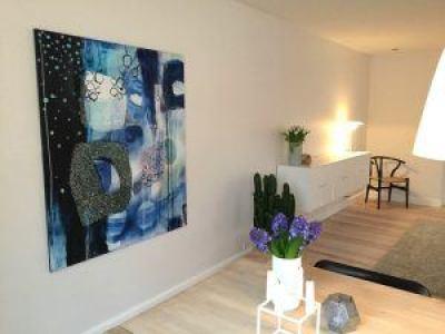 moderne maleri til stue